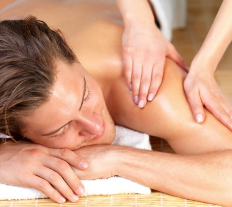 Manual Lymphatic Drainage Massage to the back